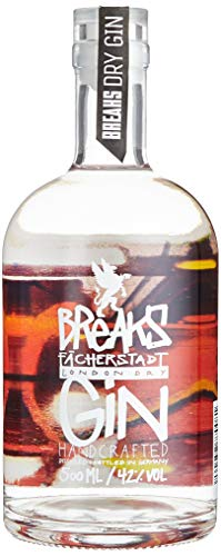 Breaks Sonderedition 4 Elemente - Feuer - *Limited Edition* - London Dry Gin - Handcrafted - 42% vol - 1 x 0,5 L