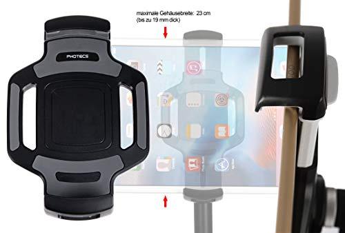 Photecs® Tablet-Stativ-Adapter Typ4 mit 1/4