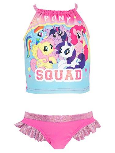 Mein Kleines Pony Mädchen My Little Pony Zweiteiliger Badeanzug - Pinkie Pie Kinder Kostüm