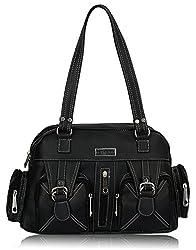 Fantosy Women's Handbag (Black) (FNB-395)