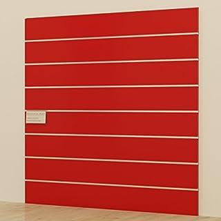 Panels DOGATO 120x 120cm Kabine Möbel Kleiderschrank Geschäften rot glänzend