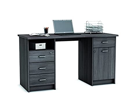 Home Office Furniture Computer Desk Study Storage with Lockable Drawer