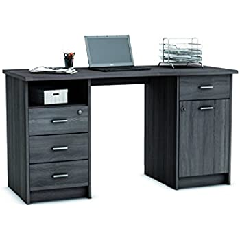 Home Office Furniture Computer Desk Study Storage with Lockable