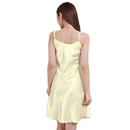 Moresave - Chemise de nuit - Femme Jaune