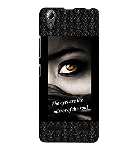 Fuson 3D Printed Quotes Designer back case cover for Lenovo A6000 - D4132