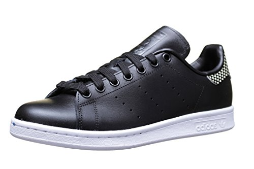 Adidas - Chaussure Stan Smith S75318 Noir - Couleur Noir - Taille 36 2/3