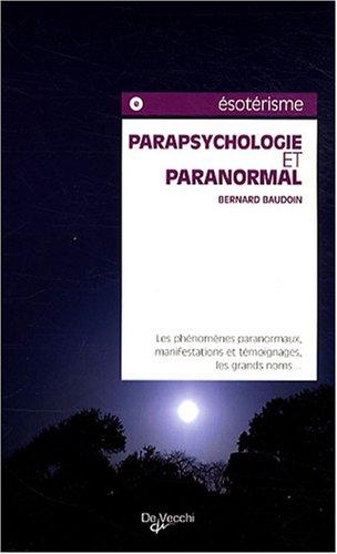 Parapsychologie et paranormal