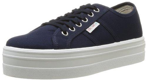 victoria Blucher Lona, Damen Sneakers, Blau (marino), 38 EU