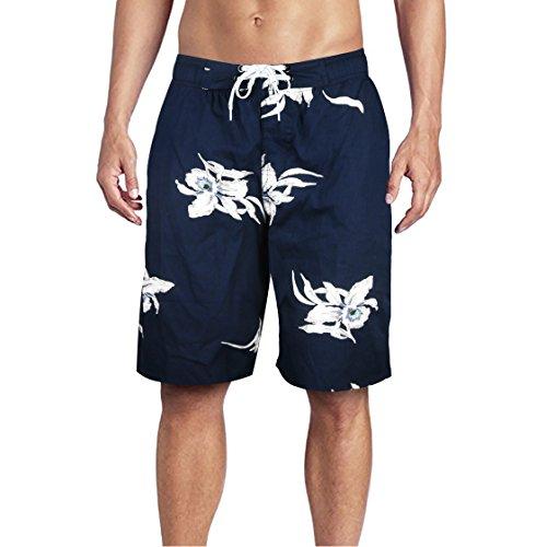 Beach Wear Herren Badehose Freizeit Short Schnelltrocknend Badeshorts EHS016-XL