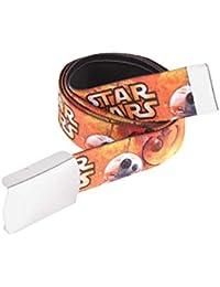 Star Wars-The Clone Wars Darth Vader Jedi Yoda Chicos Cinturón - anaranjado