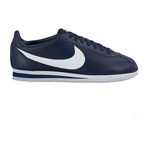 Nike Uomo Classic Cortez Leather scarpe da corsa blu Size: 45