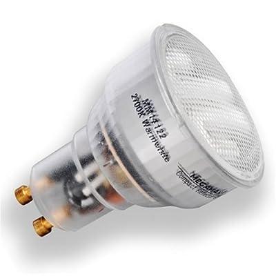 Megaman 570909 ESL COMPACT REF Energiesparlampe 7W Gu10 230V 827 von IDV GmbH - Lampenhans.de