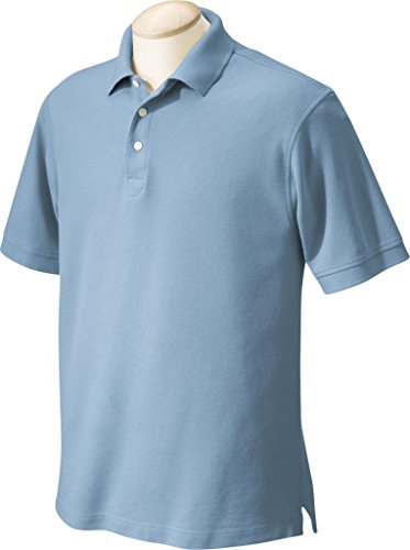 Chestnut Hill Herren CH100 Lochsäge Performance Plus Pique Polo Dusty Blue