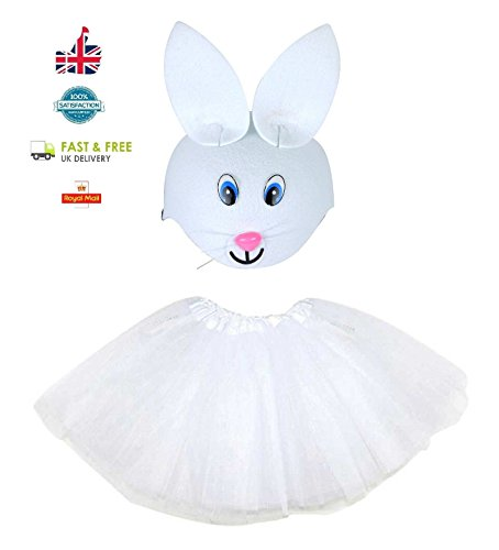 Deluxe Kids Easter Bunny Tutu Costume Party