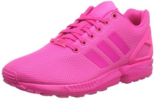 adidas Originals ZX Flux, Sneakers Basses Homme - Rose - Pink (Shock Pink S16/Shock Pink S16/Shock Pink S16), 39 1/3
