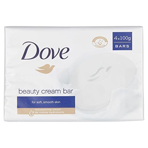 Dove Original Beauty Cream Bar, 4 x 100