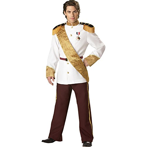 In Character Kost-me 32509 Prince Charming Elite Sammlung Kost-m Gr--e Medium-Men Brustumfang 40-42