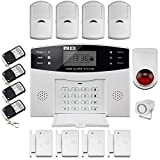 LCD DISCOBALL inalámbrico GSM notificándoles SMS HOME HOUSE OFFICE de seguridad antirrobo alarma contra ?