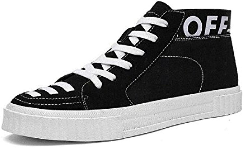 MUYII Zapatillas De Lona Para Hombre Zapatillas De Skate De Estilo Clásico Zapato De Cordones Zapatillas Botas...