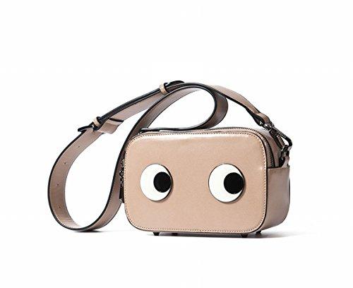 Schulter Kuriertasche Little Lady Mini Square Bag Khaki