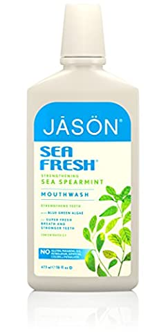 Sea Fresh, Biologically-Active Mouthwash, Deep Sea Spearmint, 16 fl oz (473 ml)