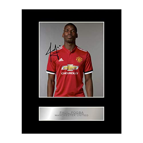 Paul Pogba display autografo Manchester United FC # 01