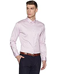 Amazon Brand- Symbol Men's Wrinkle Resistant Fully Tape Regular Fit Shirt