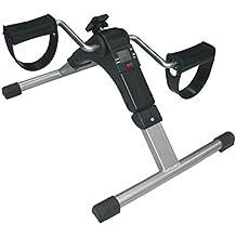 Pedaliera elettronica  Allenatore per braccia e gambe  Display multifunzione (tempo, calorie, giri, giri al minuto)| Riabilitazione di anziani e disabili o per fare sport a casa  Antiscivolo  Pieghevole