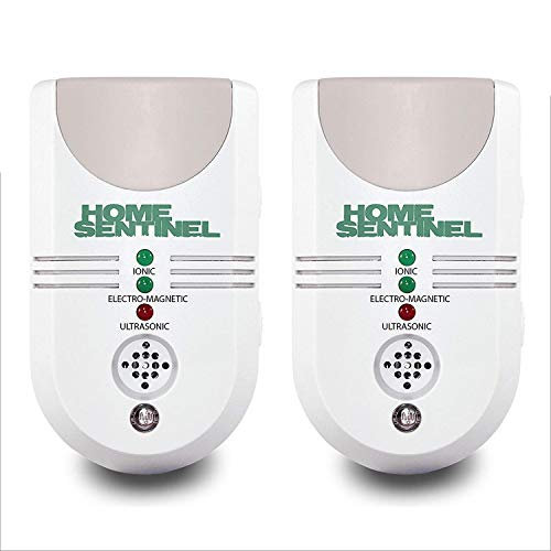 2 PACK The One and Only Powerful 5 in 1 Indoor Pest Control Against Rodent, Rats, Insects, Spiders, Vermin, Mice Repeller and more (UK PLUG) ¡