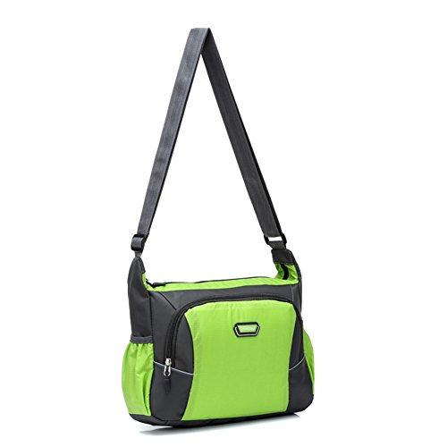 Uomini e donne borsa a tracolla/Messenger piccola borsa/Sport & Tempo libero Borse/Outdoor sacchetto di scuola tessuto impermeabile-B D