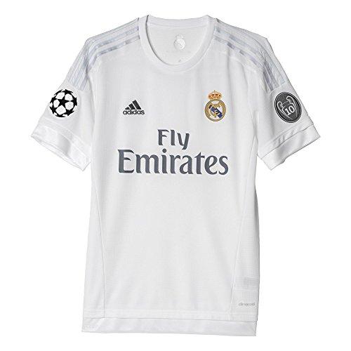 adidas 2ª Equipación Real Madrid 2015/2016 - Camiseta Oficial, Talla XL