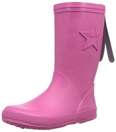 Bisgaard Mädchen Rubber Boot Star Gummistiefel, Pink (14 Pink), 24 EU