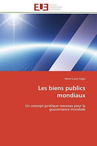 Les biens publics mondiaux