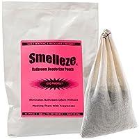 SMELLEZE riutilizzabile igienici odore di rimozione deodorante Pouch : sbarazza Bagno Stench senza fragranze in 300 Sq . Ft .