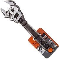 Bahco BAHADJ3 ADJ3 Set of 3 Adjustable Wrenches (8070/8071 / 8072), Grey, 16 Degree Head Angle