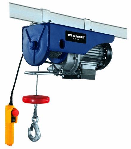Einhell BT-EH 250 - Polipasto 11 kg (500 W) color azul