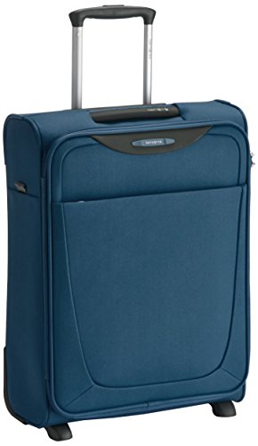 Samsonite Base Hits Upright 55/20 Bagaglio a Mano, Poliestere, Steel Blue, 39 ml, 55 cm
