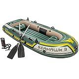 Intex 68380NP - Barca hinchable Seahawk 3, con remos...