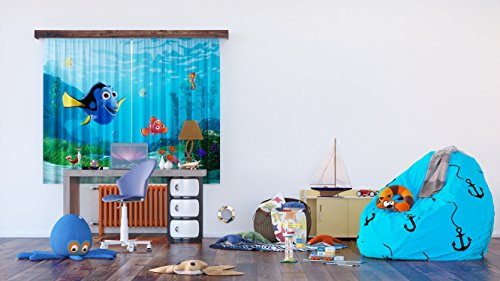 Ag design fcs xl 4320 - tende per camera bambini, motivo nemo disney