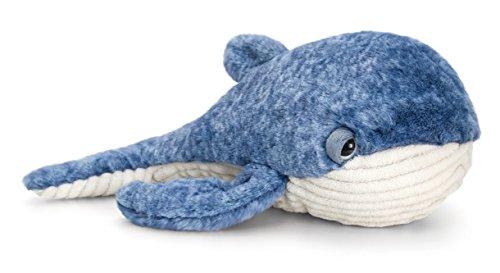 Preisvergleich Produktbild Plüschtier Wal, Kuscheltier Blauer Fisch, Stofftier Keel Toys ca. 35 cm