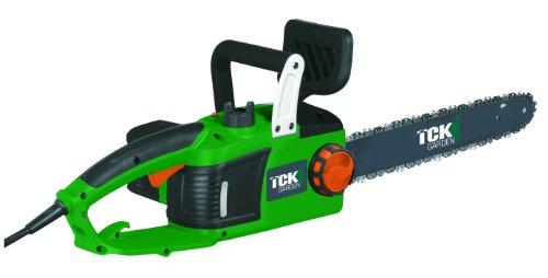 TCK Garden TRE2440 - Motosierra eléctrica (tamaño P, 2400 W, 240 V) color verde