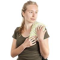 ✿ SACO TÉRMICO MULTIUSOS ✿ 30x17cm Bolsa Almohada Cojín de semillas terapéutico para Microondas 100% Algodón Hecho a Mano ➤ST10
