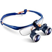 Lupa Binocular Galileo médica Marco Gafas FD-503G 2.5X/3.5X 420mm di Levin dentale