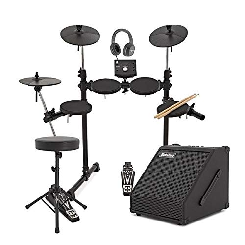 Digital Drums 400 Batteria Elettronica Compatta + Pacchetto Amplificatore