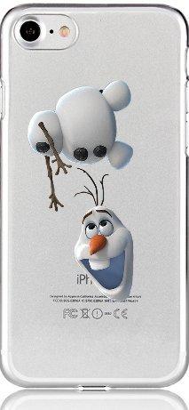 Blitz® ELSA FROOZEN Schutz Hülle Transparent TPU Cartoon Comic Case iPhone Elsa Portrai M15 iPhone 4 Olaf kopflos M16
