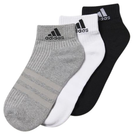 adidas AA2313 Chaussettes Gris/Blanc/Noir FR : 39-42 (Taille Fabricant : 39-42)