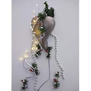 """Weihnachts"""" Deko Herz""""mit festlicher Beleuchtung in einer Geschenkbox zur Fensterdeko/Geschenk/Mitbringsel"""
