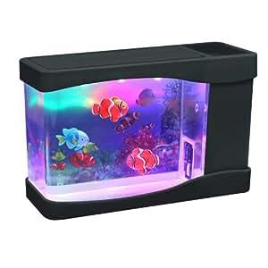 Mini fish aquarium pet supplies for Fish tank decorations amazon
