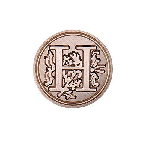 nfangsbuchstaben A-Z Alphabet Wachs Abzeichen Siegelstempel Bürobedarf Etiketten Indexteiler Briefmarken Stempel Siegelwachs ()