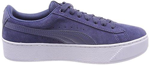 Puma Damen Vikky Platform Sneaker Blau (Blue Indigo)